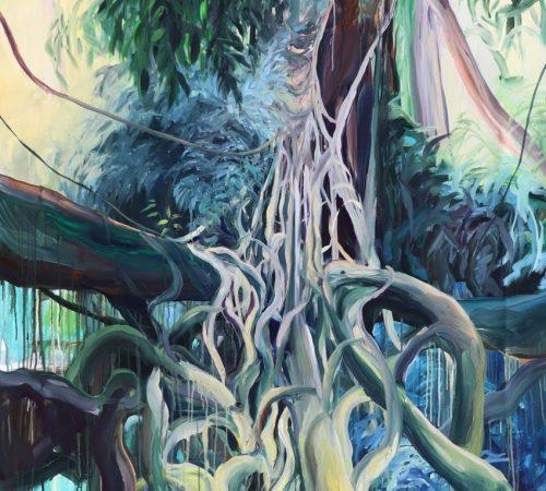 Jana-Bednarova_02_1-A-Maze-Acrylic-on-Canvas-205-x-145-cm-2020