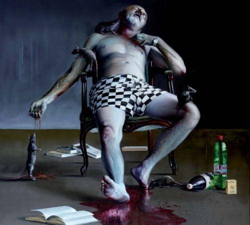 Robert-Bielik_06_Autoportret-mrtvoly-a-pat-potkanov