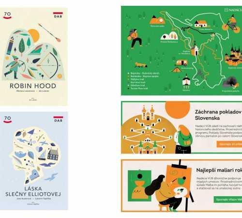 Simona Čechová / Simona Čechová illustration